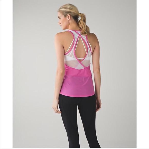 247f2f57 lululemon athletica Tops | Lululemon Tranquil Tank Pink Paradise ...